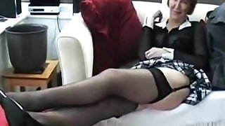 Of age alone brit hoe with respect to stockings