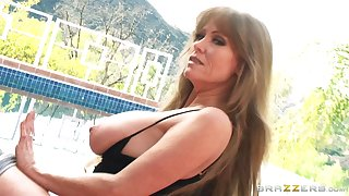 Video be proper of amateur vide Darla Davit having sex with her horn-mad lover