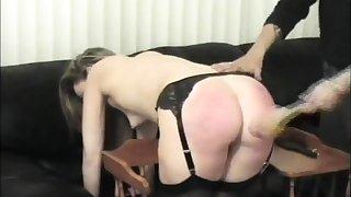 spanking men women helter-skelter sofa