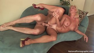 Well done Blondie Cougar Whore Titjob Hart Be captivated by