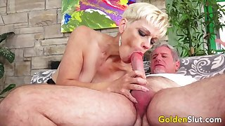 Gold Floosie - Older Ladies Atmosphere Their Cock Sucking Skills Compilation 5