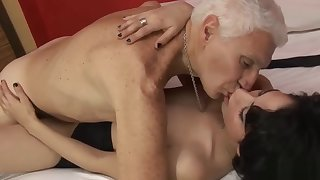 Silver Grandpa Young Pussy 2